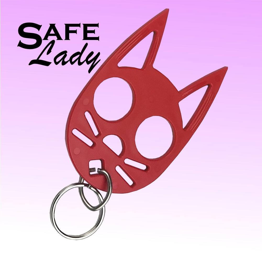 Mini Cat Key Chain Safe Lady Self Defense Key Chain