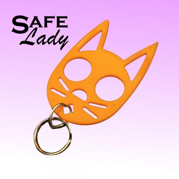 Orange-cat-key-chain